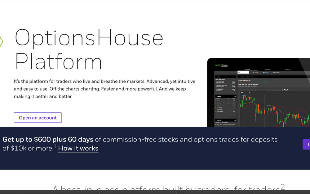 OptionsHouse Platform