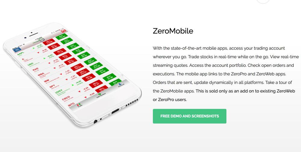 Tradezero mobile