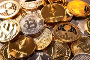 Cryptocurrency-metal
